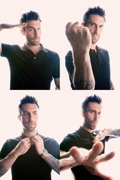 Adam Levine ...