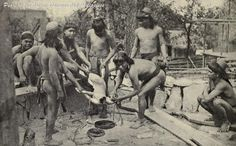 APAYAO (ISNEG) MEN PERFORMING A DOG SACRIFICE [1919] The Say-am celebrates a new harvesting season, the end of a mourning period, and other occasions. The dog's blood is mixed with sugarcane wine (basi), and the dog meat eaten. Afterwards the dog's head is placed on a bamboo basket on a bamboo pole as headhunters would do with a human head. Filipino Culture, Bamboo Poles, Indigenous Tribes, Human Head, Bff Quotes, Holy Spirit, Romans, Vintage Photos, Philippines