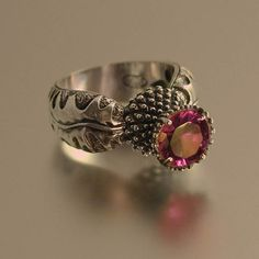 BLOOMING THISTLE RING