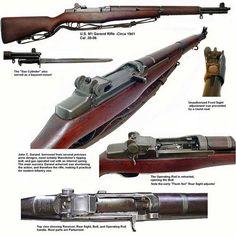 M1 Garand, what's not to love?
