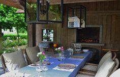 (Greet Lefevre's home) Outbuilding Summer barbecue