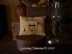 Gettysburg Homestead- These pinkeeps are so cute!  I love the Americana look!!