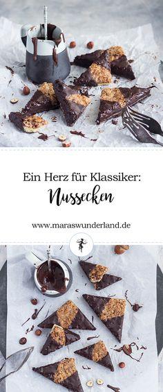Ein Herz für Klassiker: Nussecken // Nut Wedges • from Maras Wunderland