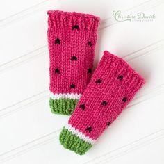 Watermelon Leg Warmers Pattern