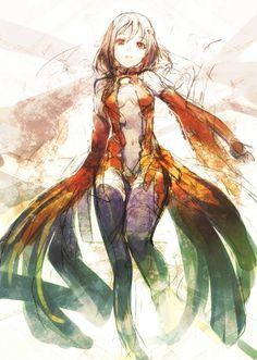 guilty crown   yuzuriha-inori