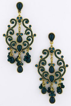 Joanna Statement Earrings on Emma Stine Limited