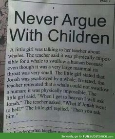 OMG!!! That is one smart little girl! :)