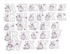Free Sewing Sunbonnet Sue Pattern | ... Designs Cute Sunbonnet Sue Alphabet Set of 26 Size 4x4 Redwork