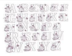 Free Sewing Sunbonnet Sue Pattern | ... Designs Cute Sunbonnet Sue Alphabet Set of 26 Size 4x4 Redwork