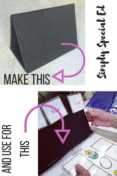 Do you have students who struggle with fine motor or have visual impairments? This velcro board tutorial will make your year! Special Education Teachers dream!