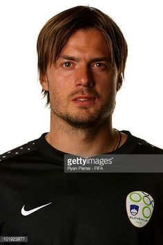 Aleksander Seliga of Slovenia poses poses during the official FIFA World Cup 2010 portrait session on June 9 2010 in Johannesburg South Africa