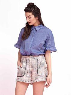 Mod Squad Tweed Shorts