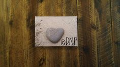 Canvas Art  Nature Photography  Heart Shaped Rock on