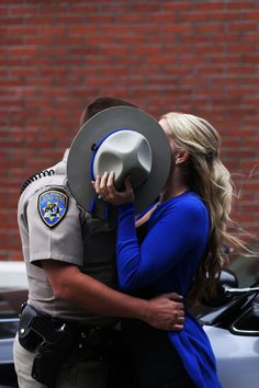 Police wife photography