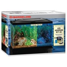 AQUATICS - KITS: STARTER/BOXED - BIO WHEEL AQUAR KIT - 20 GAL - UPG-MARINELAND GLASS(NBLSVLLE) - UPC: 47431500228 - DEPT: AQUATIC PRODUCTS