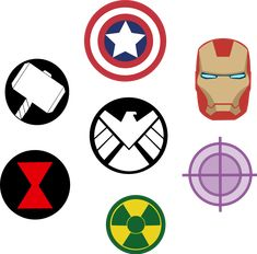 Marvel Avengers Symbols by Captain-Connor.deviantart.com on @DeviantArt