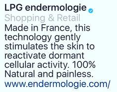 LPG ENDERMOLOGIE is 100% natural @ SPA FLEUR DE LIS & SPA FLEUR DE LIS FIT inside Everyday Fitness in Redding, CA.