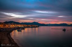 ASPRA Wonderful sunset #Aspra #Palermo ph E Amelio #visitsicilyinfo