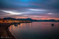 ASPRA Wonderful sunset #Aspra #Palermo ph E Amelio #visitsicilyinfo