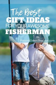 The fishermen on your list are sure to love any of these fishing gifts. There are items here that would make perfect gifts for a fisherman of any type. Fishing Gifts For Dad, Fishing Tips, First Time Grandma, Birthday Gifts For Grandma, Fisherman Gifts, Grandpa Gifts, Big Guys, Gifts For Him, Best Gifts