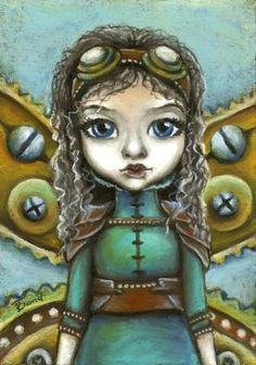 Steampunk FAIRY - print by Tanya Bond. Starting at $9 on Tophatter.com!