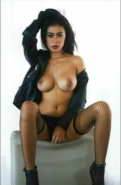 Are not Asian stocking models nude