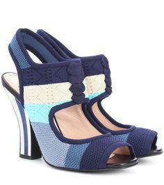 Fendi - Knitted sandals   mytheresa.com