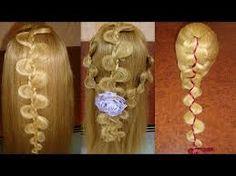 Resultado de imagen para peinados faciles con trenzas paso a paso