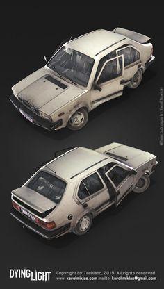 ArtStation - Dying Light Vehicles, Karol Miklas