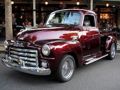 I have always, always wanted an old pickup truck. Gonna drive it with a dog in a bandana sitting next to me!    1955 GMC Pickup (Custom) 1 by Jack_Snell, via Flickr