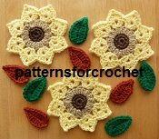Free crochet pattern motifs