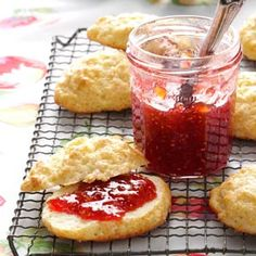 Raspberry Peach Jam-it's the best jam I've ever tasted or made.