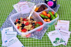 Berry Quinoa Salad Lunchbox Berry Quinoa Salad Lunchbox