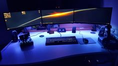 I thought it was good until I visited this subreddit :) Laptop Gaming Setup, Gaming Desk, Gaming Center, Custom Pc, Computer Keyboard, Desks, Computers, Tech, Studio