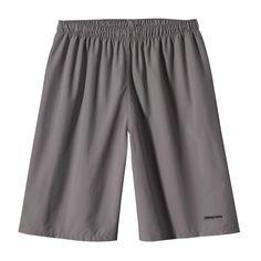 Estos son los pantalones cortos para ocio. Es gris. La talla es flojo.