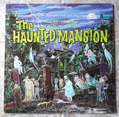 Vintage 1969 Walt Disney Haunted Mansion LP Record. If you ever find it, buy it. I loved this record book.