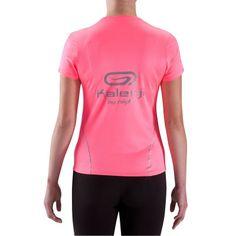 ba0d15140 Camiseta manga corta de running mujer Kalenji By night rosa