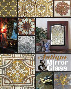 How to Create Antique Mirror & Etch Glass | Royal Design Studio