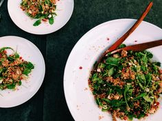 Frisse, zomerse couscous salade