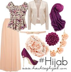 Love this spring color palate 💜 Islamic Fashion, Muslim Fashion, Modest Fashion, Hijab Fashion, Love Fashion, Fashion Outfits, Maxi Outfits, Hijab Outfit, Modest Outfits