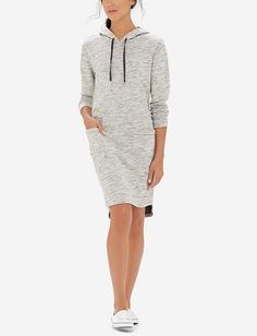 Heathered Hoodie Dress from THELIMITED.com