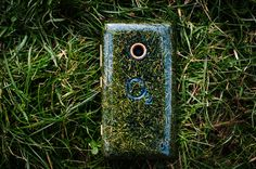 O2 recycle grass phone made from twickenham's rugby pitch clippings
