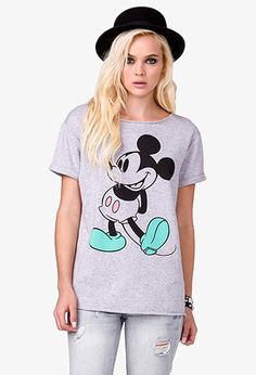 Short Sleeve Mickey Mouse® Pullover   FOREVER21 - 2037772011