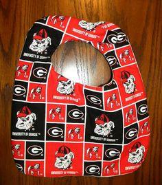 Hand Crafted University of Georgia Bulldogs UGA by HikerJohnson