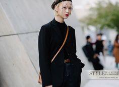 Яркий стиль гостей недели моды в Сеуле