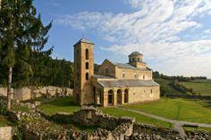 Sopocani monastery, Serbia