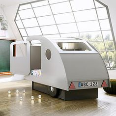 Caravan Bed - children's room