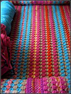 Bollywood Afghan-pattern is in Crochet Stitch Bible