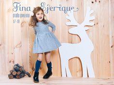 Fina Ejerique presenta su nueva colección otoño invierno 17-18 en FIMI Madrid, PITTI Florencia y BUBBLE Londres - Fina Ejerique presents its new collection autumn winter 17-18 at FIMI Madrid, PITTI Florence and BUBBLE London  #FinaEjerique #kidswear