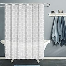 Image Of India Ink Aura PEVA 72 Inch X 70 Inch Shower Curtain